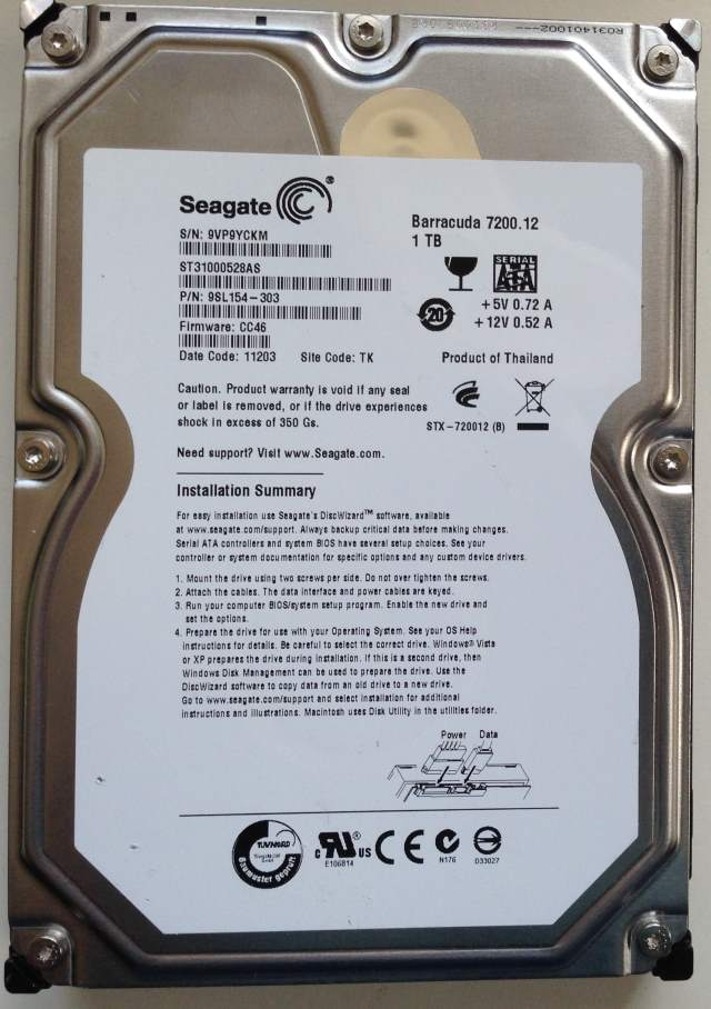 PC Hard Drive Data Recovery